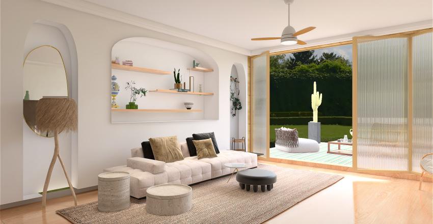 WEEKEND HOME Interior Design Render