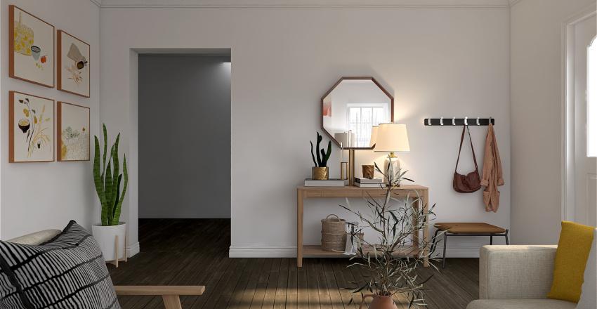 Jo's Living room Interior Design Render