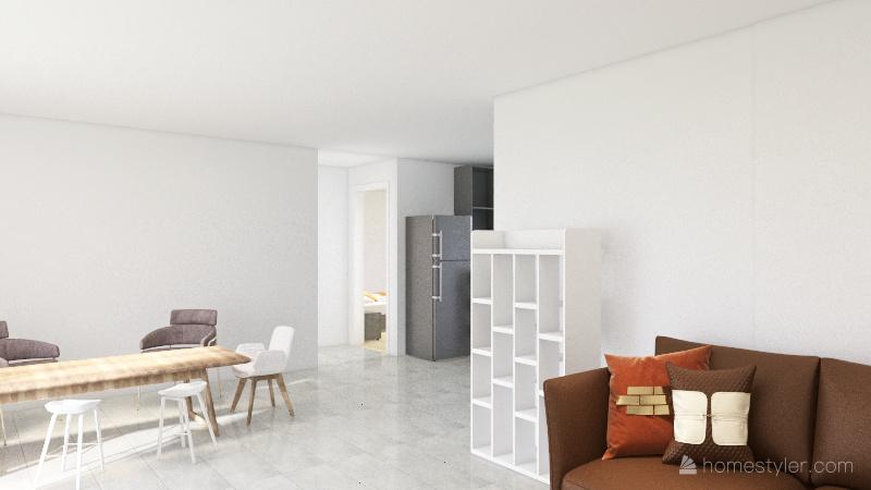 Ale project walk in Interior Design Render