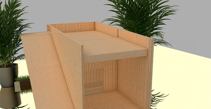 niche Interior Design Render