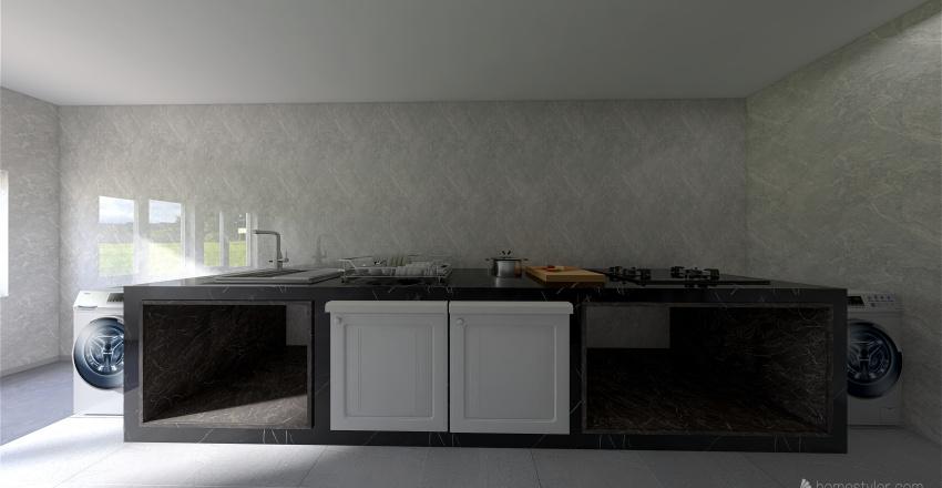 Kitchen Room  by obchoei_copy Interior Design Render