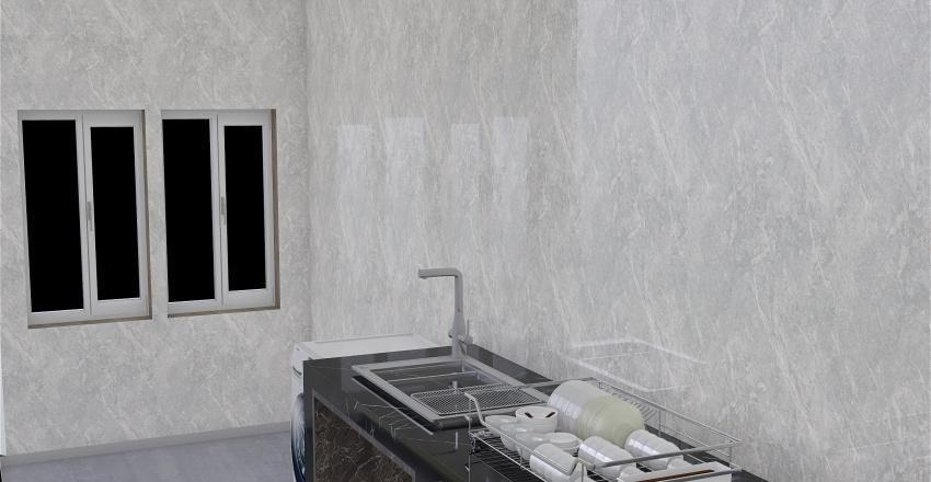 Kitchen Room  by obchoei Interior Design Render