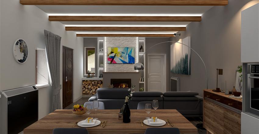 Cascina Vietri Interior Design Render