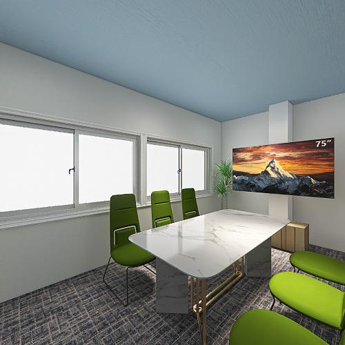 白山2F Plane.1 Interior Design Render