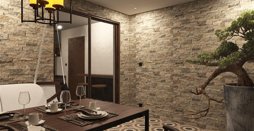134 Sqm  Interior Design Render