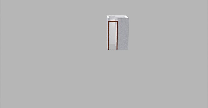 banheiro social Interior Design Render