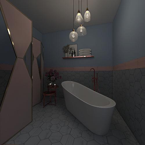 Perfect grey Interior Design Render