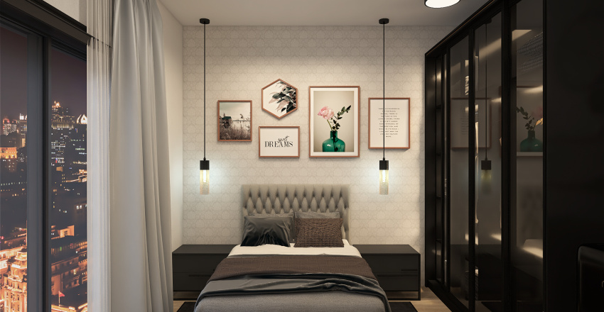 Alojamento Interior Design Render