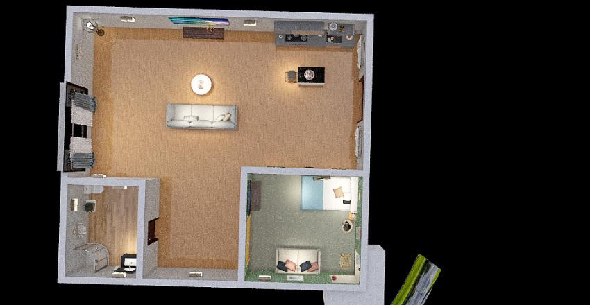 NiceApartmentFCS Interior Design Render