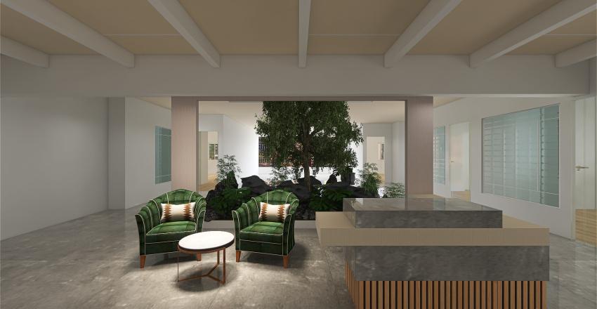oak option-vertical stripes Interior Design Render
