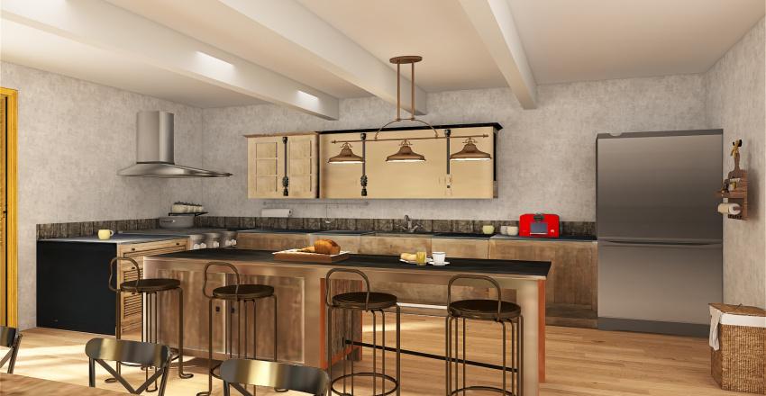 maison du sud Interior Design Render