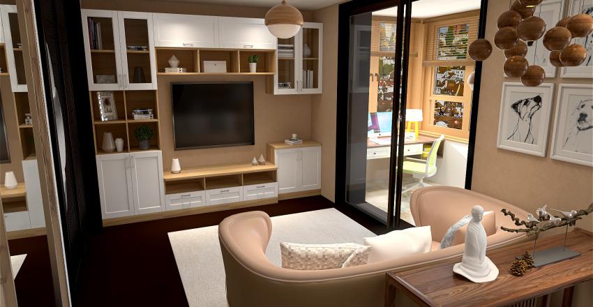 Le Santé house Interior Design Render