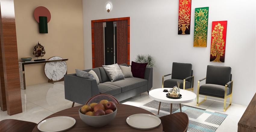 Portfolio Project 1 Interior Design Render