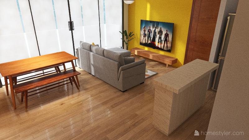 Home 7 Interior Design Render