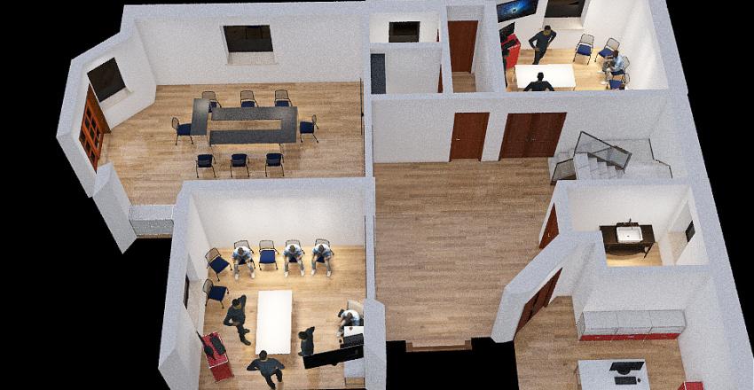 Planta Principal  Proyecto 2 Interior Design Render