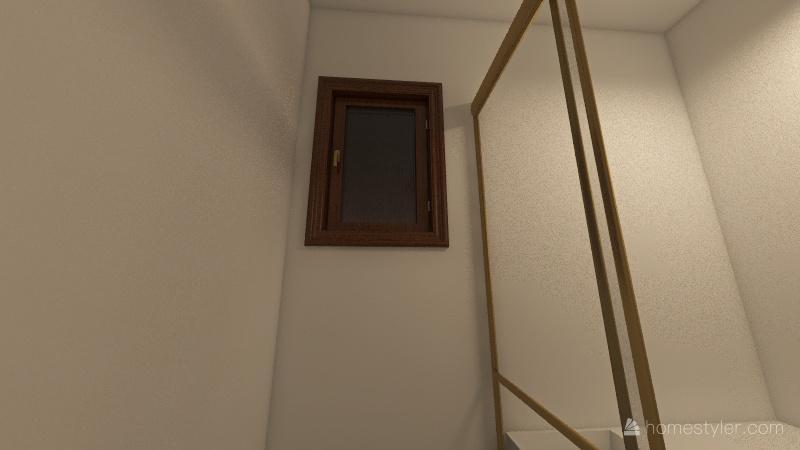 onsen Interior Design Render