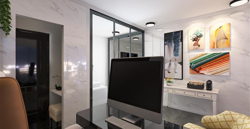 Fashion Design Office Interior Design Render