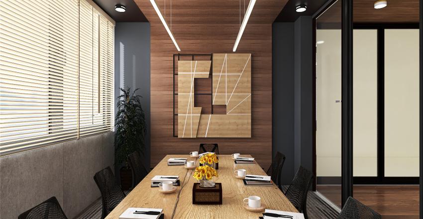 D&E office Interior Design Render