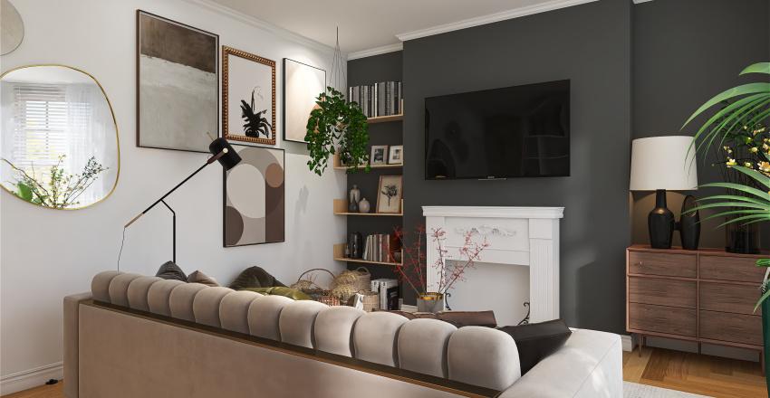 victorian house Interior Design Render