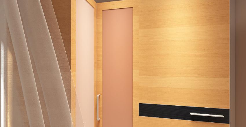 Sypialnia G&A Interior Design Render
