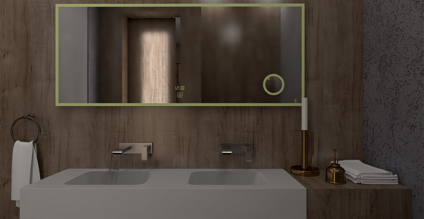 City Flat Interior Design Render