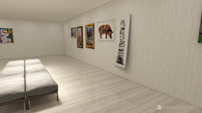Museo Interior Design Render