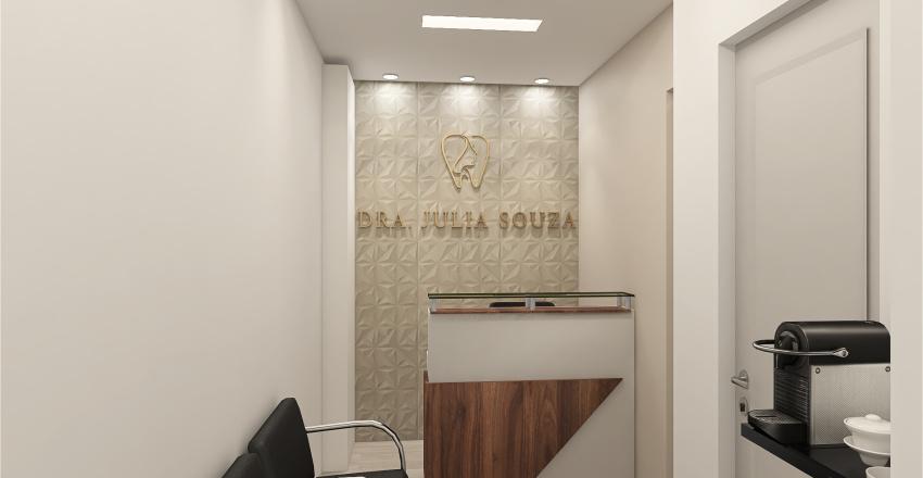 PROJETO JULIA ODONTO Interior Design Render