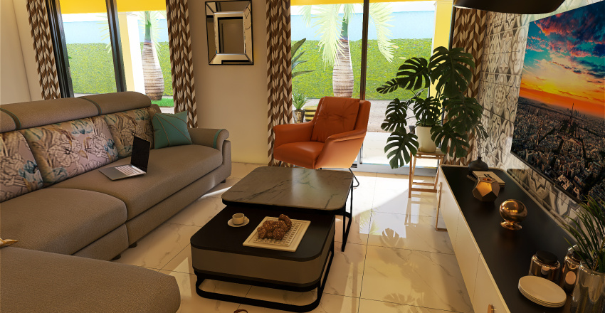 Yene Try Interior Design Render
