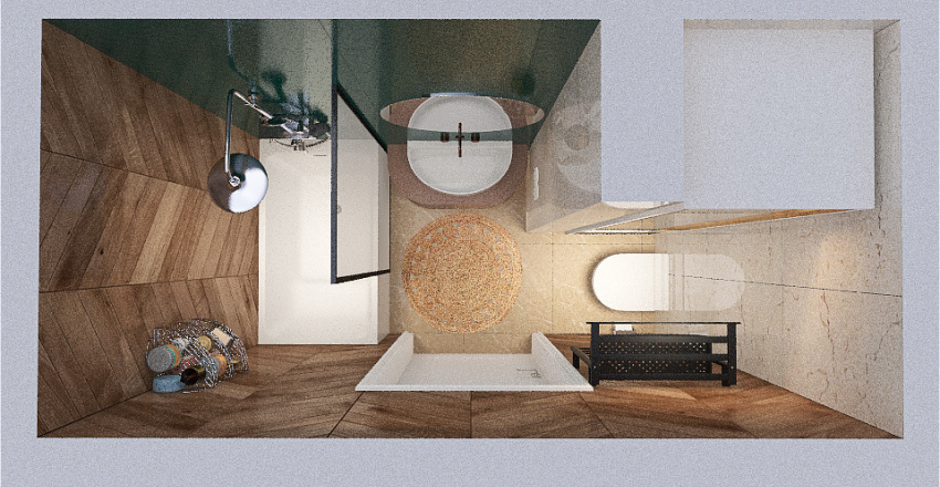 Copy of Ванна Interior Design Render