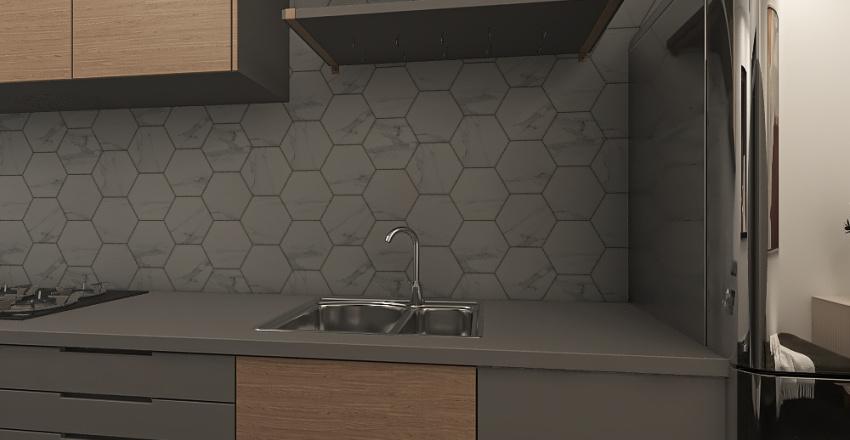 Home. Interior Design Render