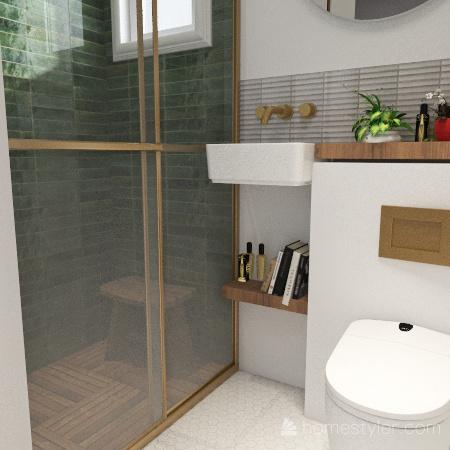 onsen raven Interior Design Render