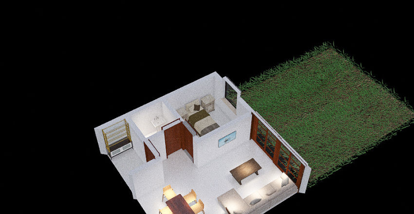 Quincho Thames 2 Interior Design Render