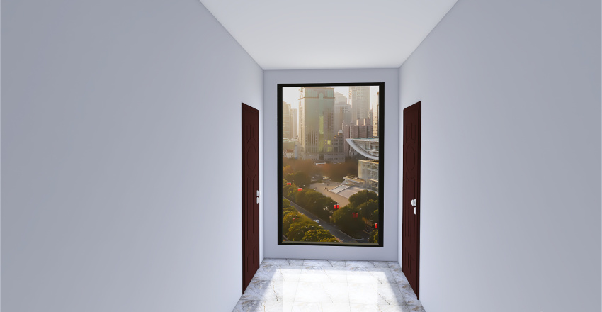 Department in south korea Interior Design Render