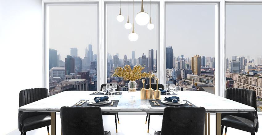 Luxury Bachelor Pad by Kalani Interior Design Render