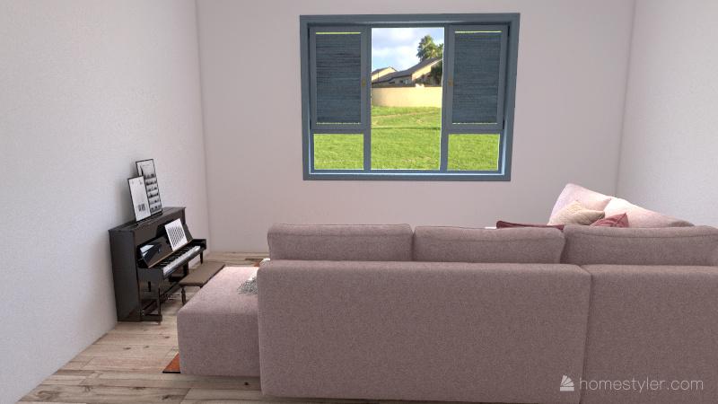Mansión Campestre Interior Design Render