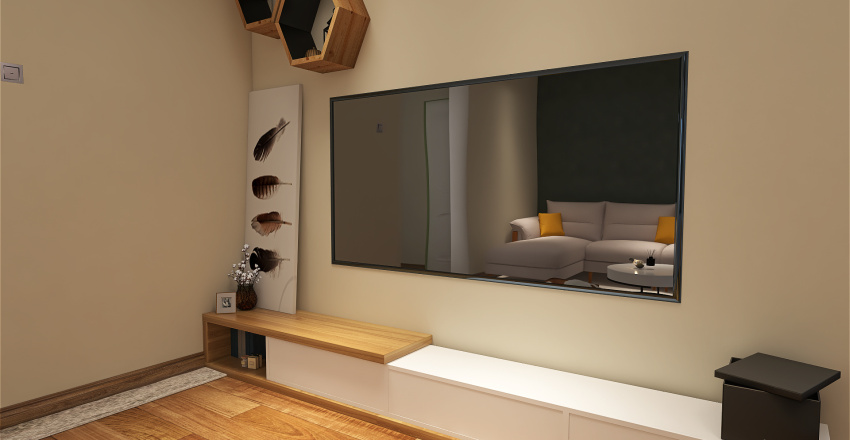 Old town residential Interior Design Render