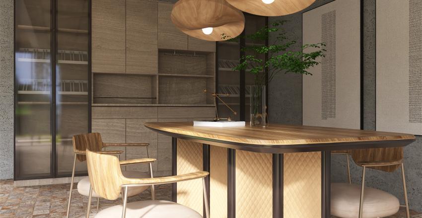 WITH THE BUTTERFLIES Interior Design Render