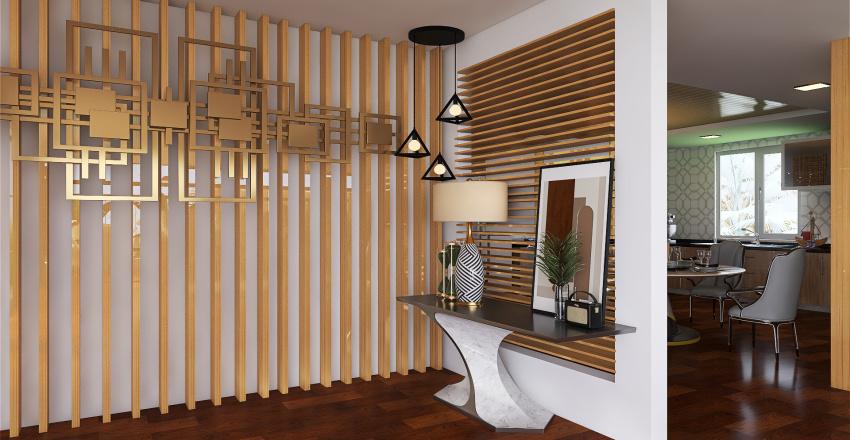 farm house Interior Design Render