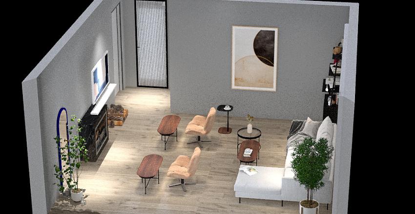 JOSE GERARDO OFICINA Interior Design Render