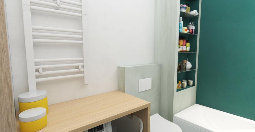 Colorful Flat   Modern Design Interior Design Render