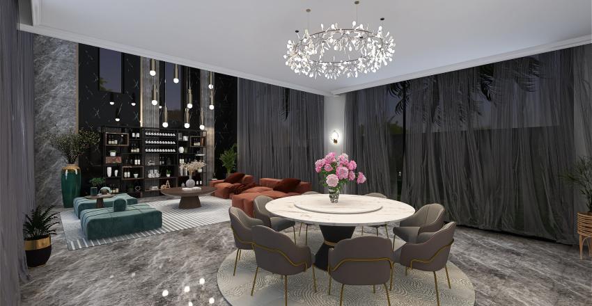 Adonis,  Villa Interior Design Render