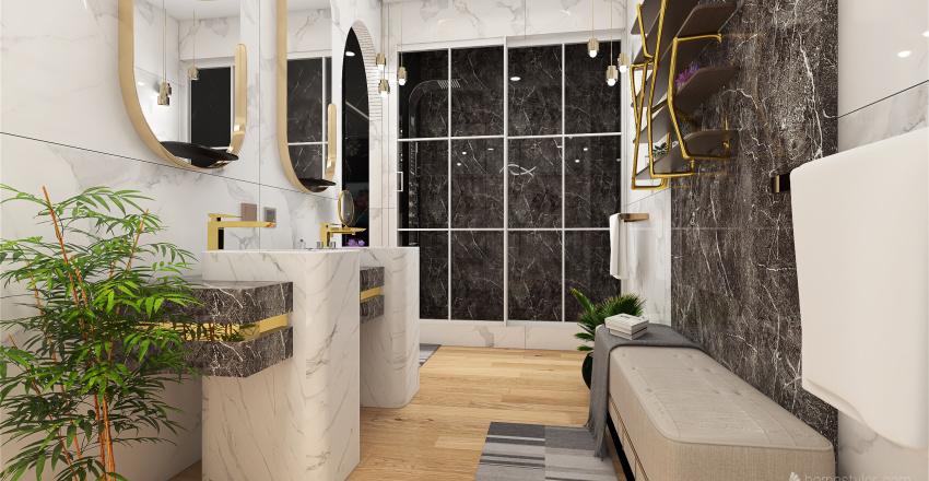 Glam Hotel Master Suite- Speed Render Interior Design Render