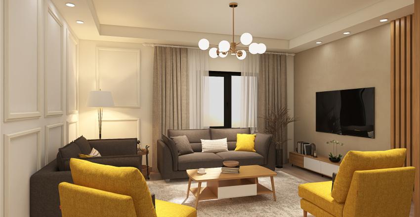 Haya House Interior Design Render
