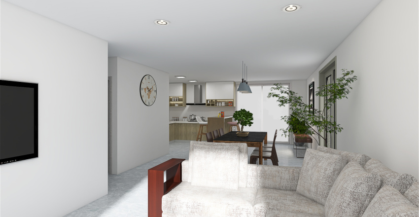 Planta baja2 Interior Design Render