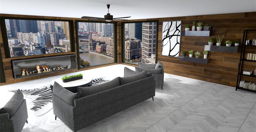 Sunroom 2 Interior Design Render