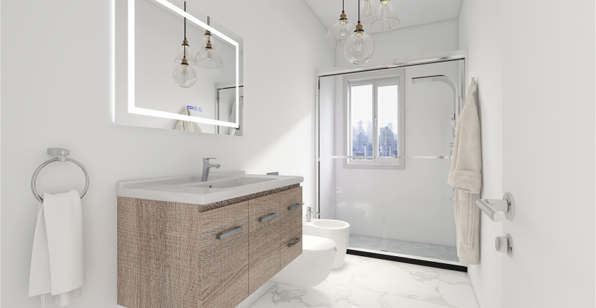 Genova Proposta 2 Interior Design Render