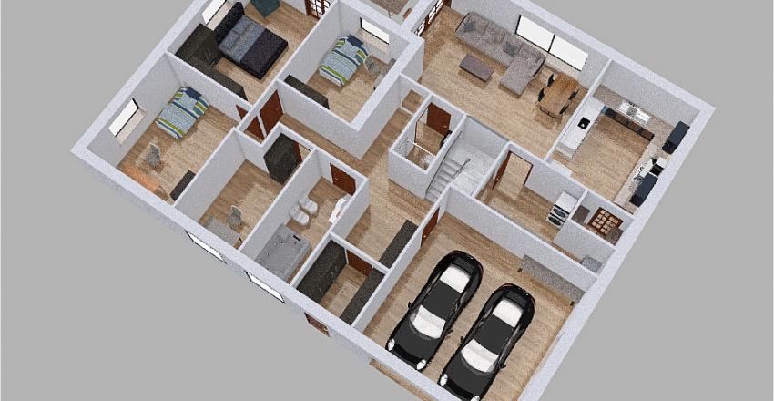 House final 1 Interior Design Render