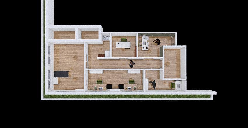 Office Renovation - Lagos State Interior Design Render