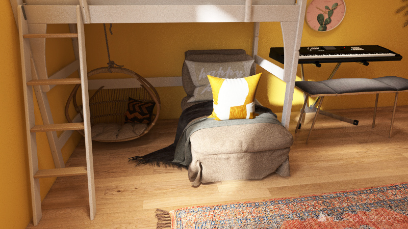 my room (actual final version) Interior Design Render