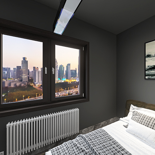 modern house Interior Design Render